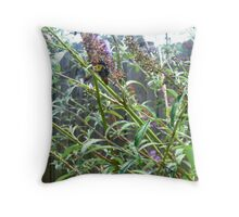 Bee All You Can Be, Flowers Not Guns Throw Pillow