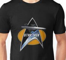 StarTrek Enterprise 1701 09  Command Signia Chest Unisex T-Shirt