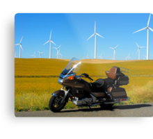 Cavalcade and Wind Mills Metal Print