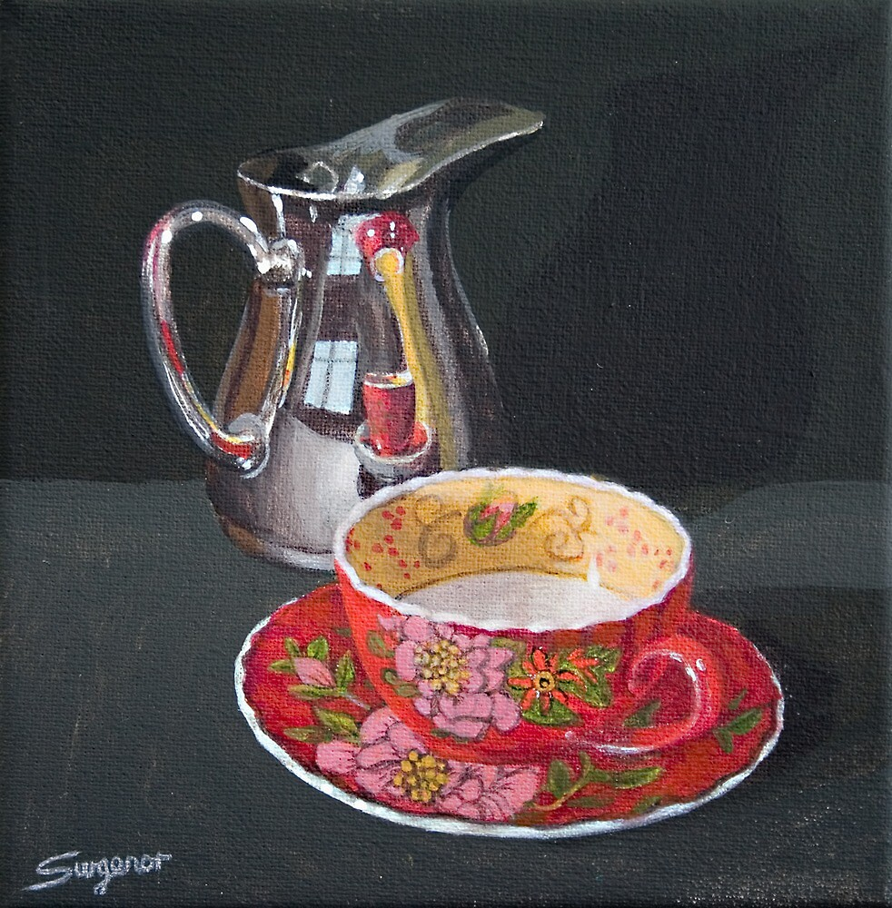 Teatime by Freda Surgenor