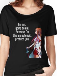 Asuna Couple quote Women's Relaxed Fit T-Shirt