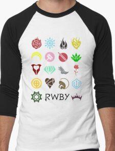 RWBY: Emblems Men's Baseball ¾ T-Shirt