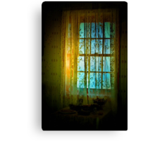 Sunlight and Lace Canvas Print