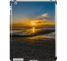 Summer sunset at Whitstable in Kent iPad Case/Skin