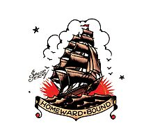 Sailor Jerry Traditional Tattoo - Homeward Bound by Leo Ion