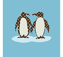 Best Friend Penguins Photographic Print