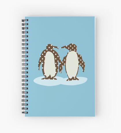 Best Friend Penguins Spiral Notebook