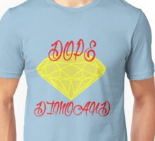 DOPE diamond logo Unisex T-Shirt