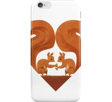 Squirrel Lovers iPhone Case/Skin