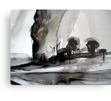 a pass.... to the other side Metal Print