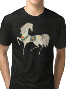 Dancing Horse Tri-blend T-Shirt