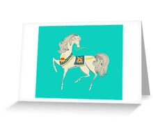 Dancing Horse Greeting Card