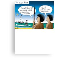 Boat People Canvas Print