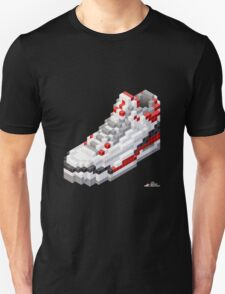 3D 8-bit basketball shoe 3 Unisex T-Shirt