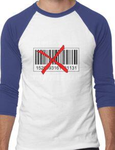 I'm not a Number... (Other Version) Men's Baseball ¾ T-Shirt