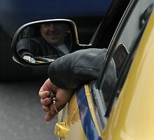 taxi driver by anastasios