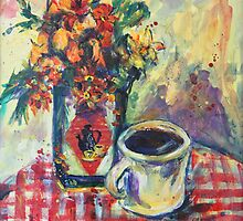 Morning coffee by christine purtle