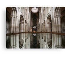 Mirror Image, Ely Cathedral Canvas Print