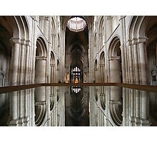Mirror Image, Ely Cathedral Photographic Print