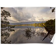 Coastal Reflections - Mossy Point NSW Poster