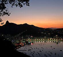 Rio De Janeiro Sunset by Quasebart