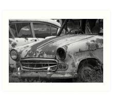 Name's Rusty | old car yard, Sthn NSW Art Print