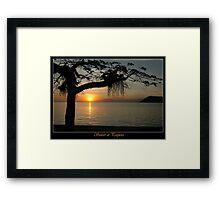 Sunset at Paqueta Framed Print
