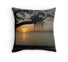 Sunset at Paqueta Throw Pillow