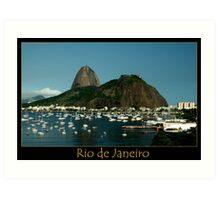 Rio de Janeiro, Sugar Loaf Art Print