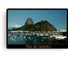 Rio de Janeiro, Sugar Loaf Canvas Print