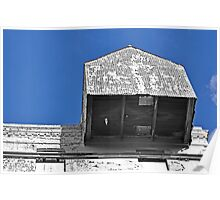 Shed in the Blue Sky Poster