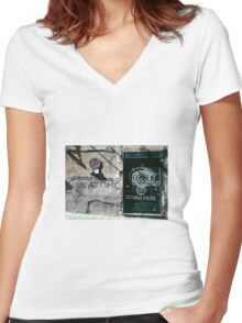 2013 was but a moment  Women's Fitted V-Neck T-Shirt