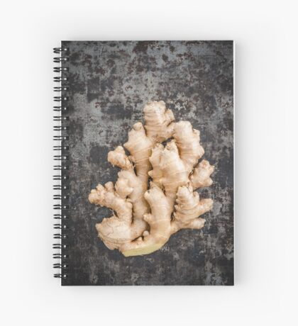Fresh ginger Spiral Notebook