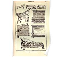 A Handbook Of Ornament With Three Hundred Plates Franz Sales Meyer 1896 0455 Furniture Sofa Couch Poster