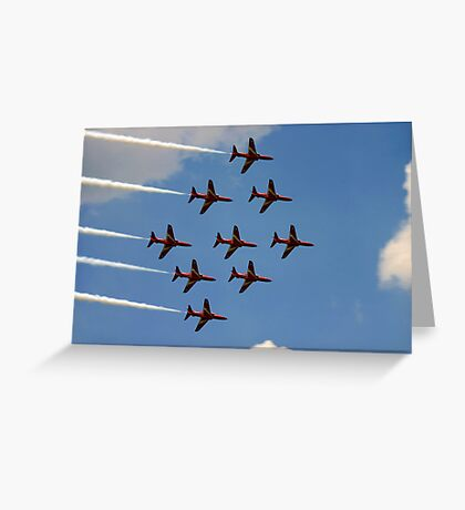Masters of the Sky Greeting Card
