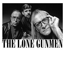 The Lone Gunmen (X-Files) Grunge Style Shirt by sorryforlaughin