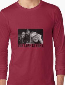 The Lone Gunmen (X-Files) Grunge Style Shirt Long Sleeve T-Shirt