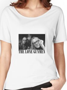 The Lone Gunmen (X-Files) Grunge Style Shirt Women's Relaxed Fit T-Shirt