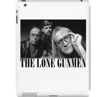 The Lone Gunmen (X-Files) Grunge Style Shirt iPad Case/Skin