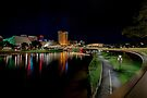 Adelaide Riverbank at Night IV by Ray Warren