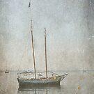 Sailing boat by julie anne  grattan
