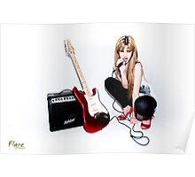 Attitude of a Rock Star Poster