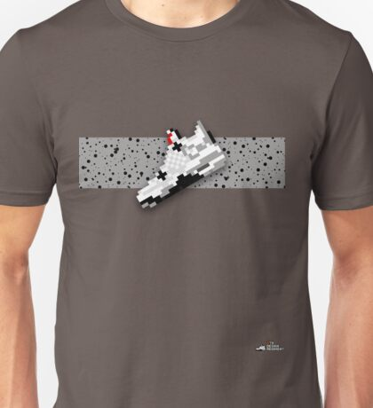 8-bit basketball shoe 4 T-shirt Unisex T-Shirt