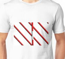 Red lines Unisex T-Shirt