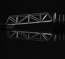 """Boat Ramp Reflections"" by Sophie Lapsley"