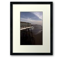 Three piers Framed Print