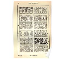 A Handbook Of Ornament With Three Hundred Plates Franz Sales Meyer 1896 0178 Free Ornaments Link Border Poster