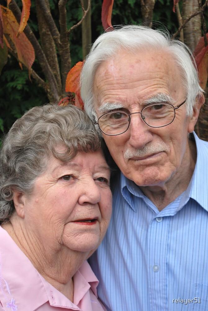Happy  61st Wedding  Anniversary  Mum & Dad. by relayer51