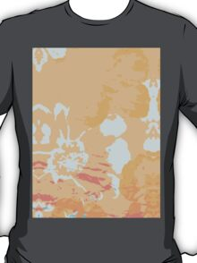 Abstract Flower Painting T-Shirt