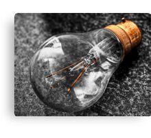 Lightbulb (HDR using Photomatix) Canvas Print